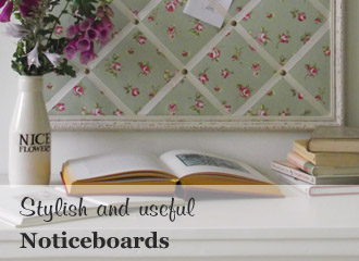 Fabric Notice Boards, Pinboards and Memo boards